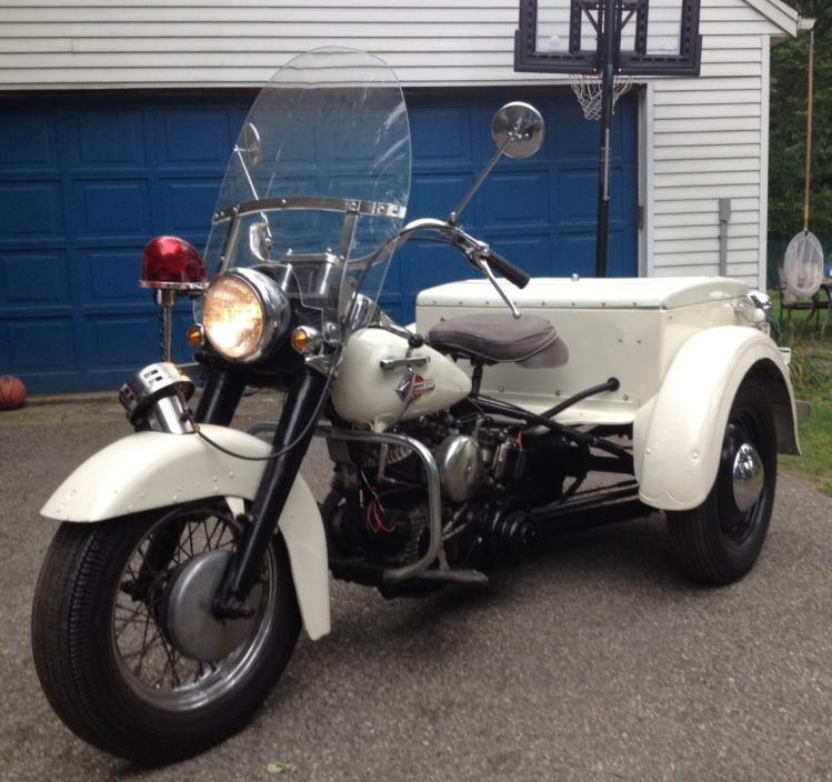 Harley Davidson Police Servi Car Motorcycles for sale