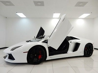Lamborghini : Aventador 2dr Coupe 2012 lamborghini 2 dr coupe