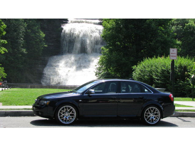 Audi : S4 4dr Sdn quat 2004 audi s 4 quattro 4.2 liter v 8 all wheel drive recaro very sharp l k
