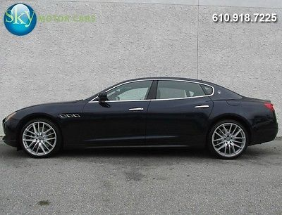 Maserati : Quattroporte GTS 530 hp gts navigation moonroof alcantara moonroof 21 s 1 owner warranty