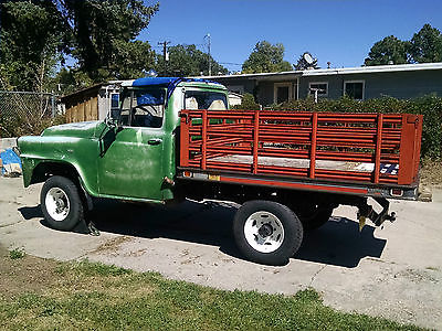 International Harvester Other A120 Flatbed 1958 A 120 4 X