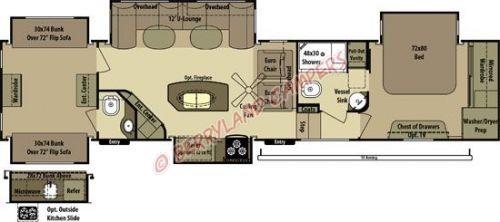 2012 Open Range Roamer 395BHS