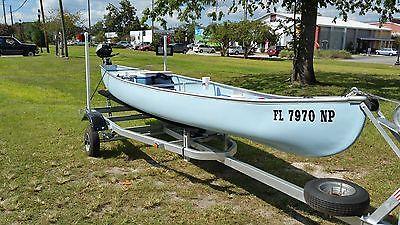 Gheenoe Canoe 16 ft with 2 HP Honda 4 Stroke