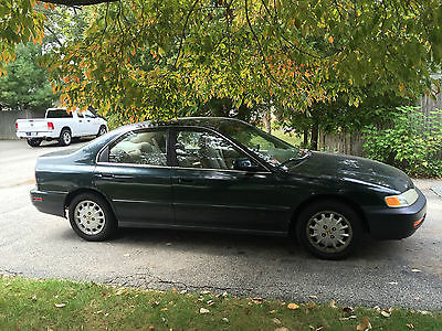 Honda : Accord EX Sedan 4-Door 1996 green honda accord ex sedan