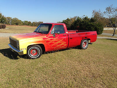 Chevrolet : C/K Pickup 1500 1987 Special Order Chevy Truck RARE fresh paint 1987 chevrolet custom ordered rare truck fresh rat rod style paint look