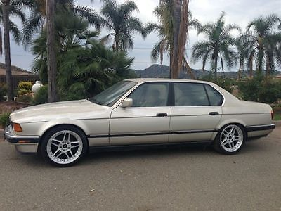 BMW : 7-Series Base Sedan 4-Door 1989 bmw 735 il base sedan 4 door 3.5 l