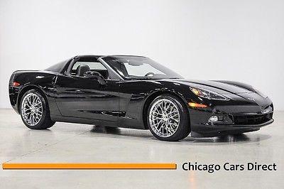 Chevrolet : Corvette w/2LT 10 corvette coupe 2 lt automatic chrome alloy wheels low miles black rare clean