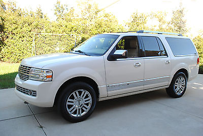 Lincoln : Navigator L Sport Utility 4-Door 2008 lincoln navigator l pearl white loaded all trade ins welcome north carolina