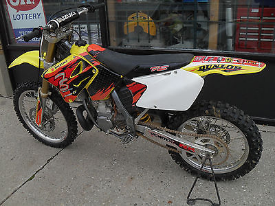 Suzuki : RM 2005 suzuki rm 250 motocross bike used under 40 hours on engine