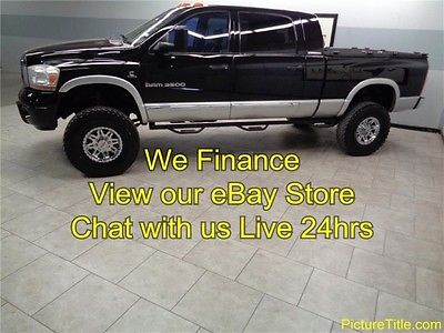 Dodge : Ram 3500 Laramie 4WD Mega Cab 5.9 Cummins Diesel 06 ram 2500 4 x 4 laramie mega cab 5.9 cummins lifted sunroof we finance texas