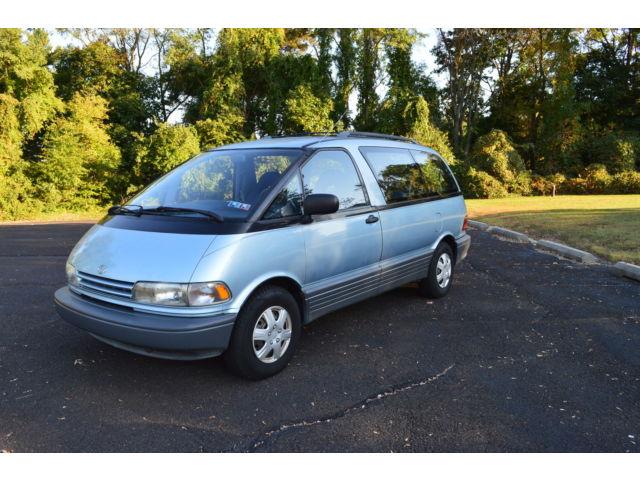 Toyota : Previa 4dr Wagon DL 1991 toyota previa 1 owner