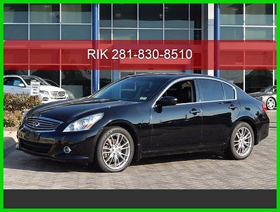 Infiniti : G37 Limited Edition 2012 limited edition used 3.7 l v 6 24 v automatic all wheel drive premium bose