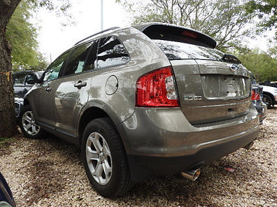 Ford : Edge SEL SEL Low Miles 4 dr SUV Automatic Gasoline 3.5L V6 Cyl GOLD