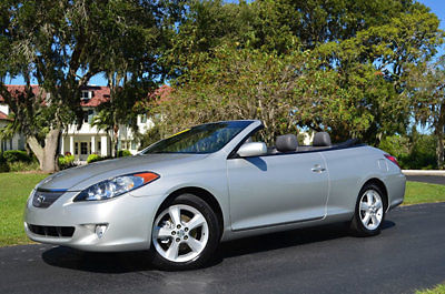 Toyota : Solara SLEConvertible 2006 toyota camry solara sle convertible leather heated seats jbl sound 1 owner
