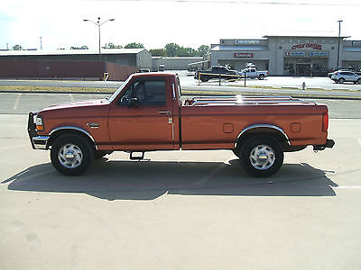 Ford : F-250 XL Standard Cab Pickup 2-Door 7.3 power stroke low low mileage 1996 1997 1998 1999 2000 2001 2002 2003 2004