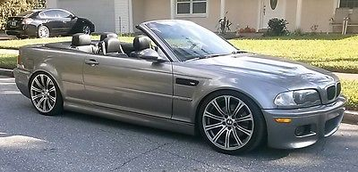 BMW : M3 BMW m3 convertable SMG 2002 bmw m 3 convertible smg