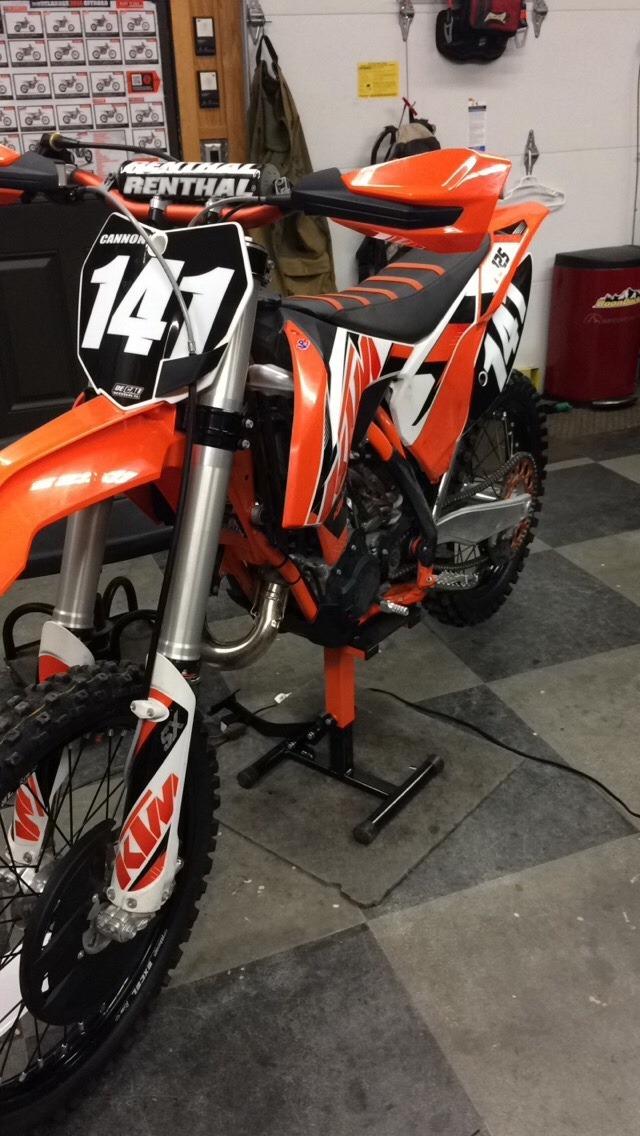 2016 KTM EXC 500EXC