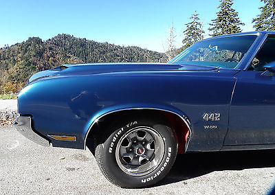 Oldsmobile : 442 W30 1970 oldsmobile 442 w 30 with broadcast card fully restored automatic a c