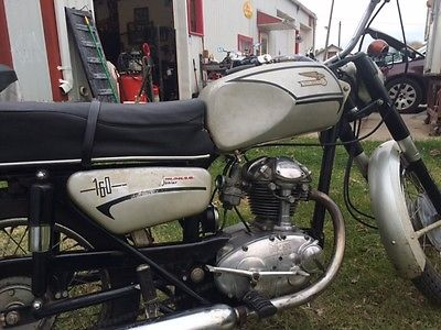 Ducati : Other 1968 ducati 160 monza jr only 1525 miles