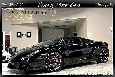 Lamborghini : Gallardo 2dr Coupe 2013 lamborghini gallardo lp 560 4 coupe 223 k msrp travel pkg rearview camera
