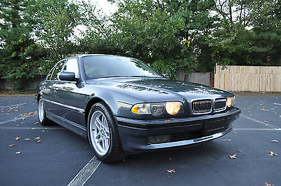 BMW : 7-Series Base Sedan 4-Door 2001 bmw 740 i m sport package 93 k miles only perfect condition