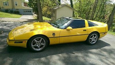 Chevrolet : Corvette ZR1 2 Door Coupe 1990 chevy chevrolet corvette zr 1 show car custom mint excellent