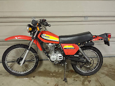 Honda : Other 1979 honda xl 185 nice original street legal enduro title 4100 miles project