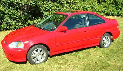 Honda : Civic 2000 honda civic si 39 105 original miles 5 speed dohc vtec engine