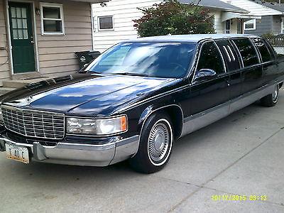 Cadillac : Fleetwood Brougham Sedan 4-Door 1996 cadillac fleetwood brougham sedan 4 door 5.7 l
