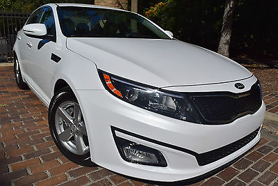Kia : Optima LX-EDITION 2014 kia optima lx sedan 4 door 2.4 l alloy wheels fog lights cd ac pearl white