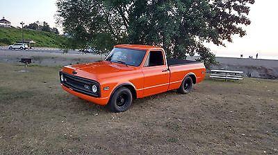 Chevrolet : C-10 base 1969 chevy c 10 crush orange ppg base clear paint