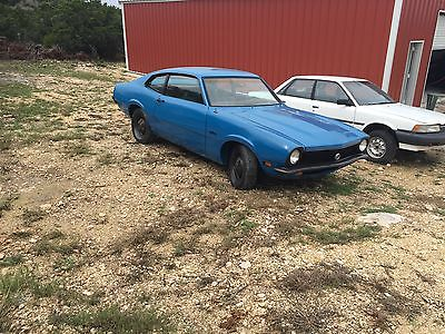 Ford : Other Maverick Ford Maverick 1972 muscle car