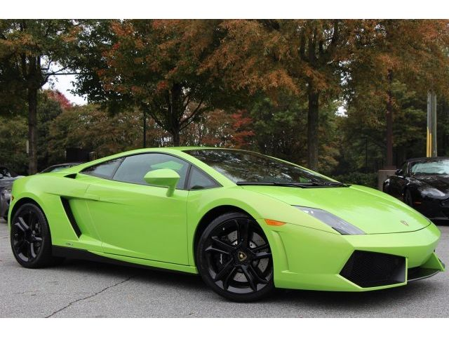 Lamborghini : Gallardo LP550-2 -LP550-2, VERDE ITHACA, RECORDS, 1-OWNER, NEW TIRES, APOLLO WHEELS, PRISTINE!