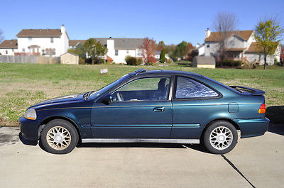 Honda : Civic EX 1996 Honda Civic Ex Coupe 2 Door 1.6 L