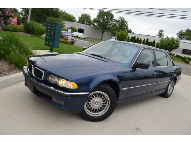 BMW : 7-Series 740iL 4dr Sd 2001 bmw 740 il navigation nice and clean