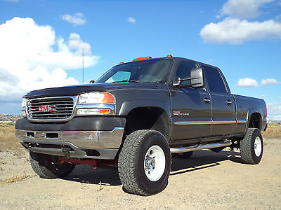 GMC : Sierra 2500 SLE 2002 gmc sierra 2500 sle duramax rare 6 spd manual transmission make offer
