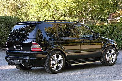 Mercedes-Benz : M-Class High Performance SUV 2000 mercedes brabus ml 5.8 400 hp full brabus build when new beautiful
