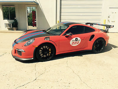 Porsche : 911 GT3 RS UNIQUE PORSCHE 2016 991 PORSCHE GT3 RS 4.0