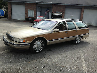Buick : Roadmaster Limited Estate Wagon 96 limited woody station wagon tow pkg posi 5.7 l lt 1 v 8 lthr 3 seats 144 k