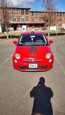 Fiat : 500 POP True Blood Themed Red Hatchback 2DR FWD POP with extra features