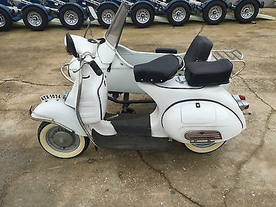 Other Makes : VESPA 150 1965 vespa 150 with matching side car 344 actual km runs very good