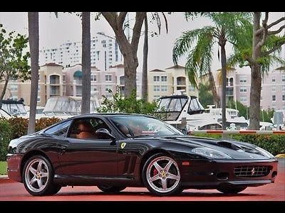 Ferrari : 575 M Maranello BLACK ONLY 19K MILES $1,260.00 A MONTH 2004 SERVICED DAYTONAS MODULAR SHIELDS