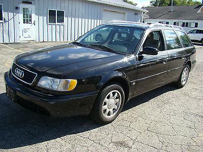 Audi : A6 Wagon 1995 audi a 6 avant wagon runs and drives needs work best offer