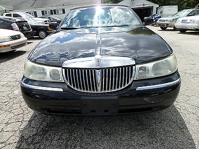 Lincoln : Town Car Signature Sedan 4-Door 1998 lincoln town car signature runs and drives best offer