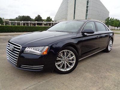 Audi : A8 4dr Sedan 12 audi a 8 l 49 k mi pwr htd lthr sts navi am fm cd bl tooth rvrse cam gr 8
