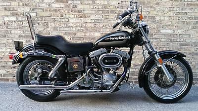 Harley-Davidson : Other 1976 amf harley davidson fxe 1200 superglide shovelhead fxe fxs