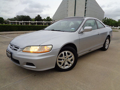 Honda : Accord EX Automatic V6 w/Leather 02 honda accord ex pwr sunroof pwr driver am fm cd radio lth sts clean