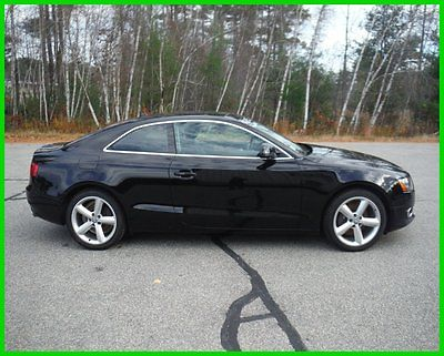 Audi : A5 Base Coupe 2-Door 2009 audi a 5 awd 4 x 4 6 speed salvage rebuildable repairable no reserve nr