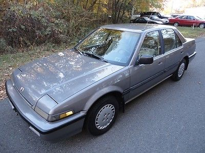 Honda : Accord LX 1989 honda accord lx sedan 4 door 2.0 l