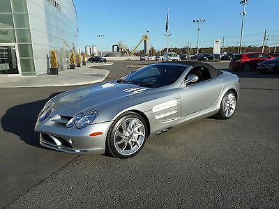 Mercedes-Benz : SLR McLaren Convertible 2008 mercedes benz mclaren slr convertible